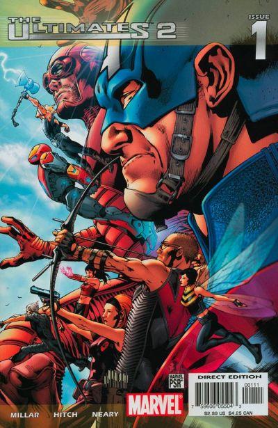 Couverture de The ultimates 2 (Marvel Comics - 2005) -1- Issue 1