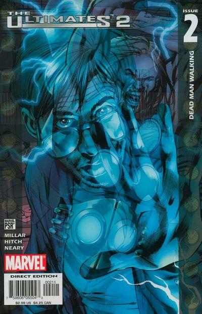 Couverture de The ultimates 2 (Marvel Comics - 2005) -2- Dead Man Walking