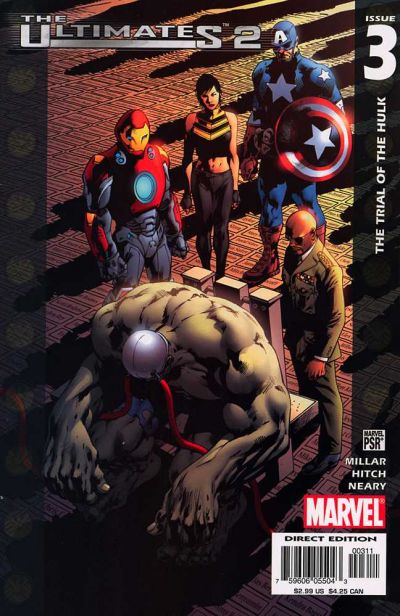 Couverture de The ultimates 2 (Marvel Comics - 2005) -3- The Trial of the Hulk