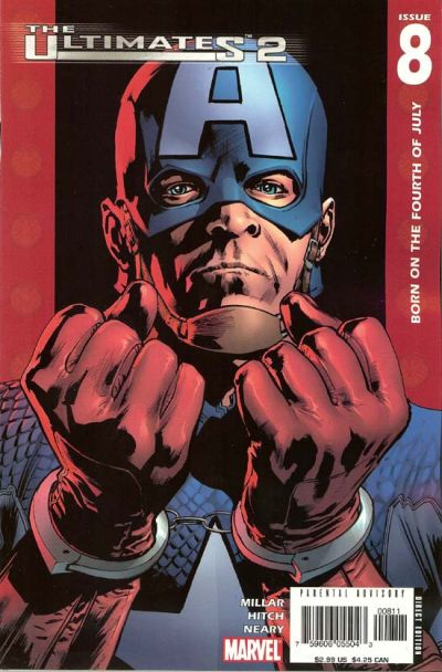 Couverture de The ultimates 2 (Marvel Comics - 2005) -8- Born on the Fourth of July