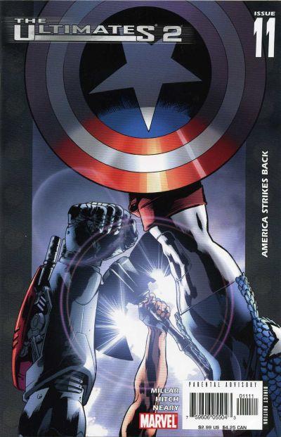 Couverture de The ultimates 2 (Marvel Comics - 2005) -11- America Strikes Back