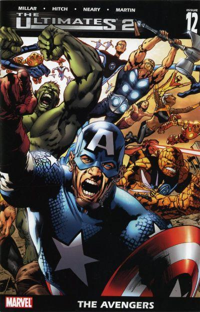 Couverture de The ultimates 2 (Marvel Comics - 2005) -12- The Avengers