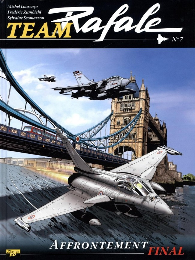 Team Rafale Tomes 1 à 7 version PDF