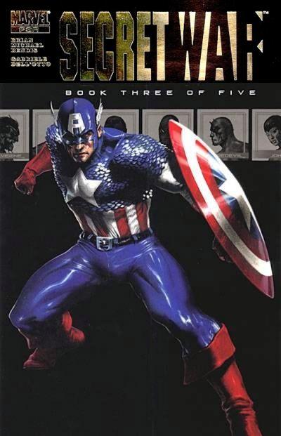 Couverture de Secret war (Marvel comics - 2004) -3- Book Three of Five