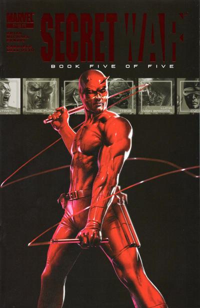 Couverture de Secret war (Marvel comics - 2004) -5- Book Five of Five
