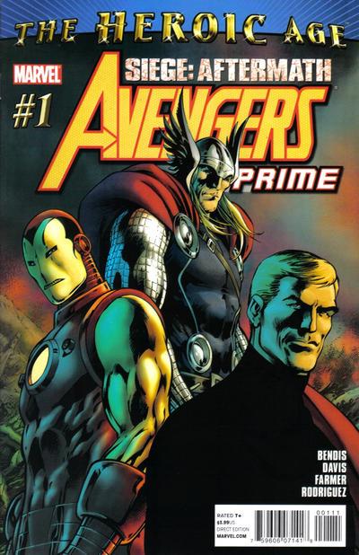 Couverture de Avengers Prime (2010) -1- Issue 1