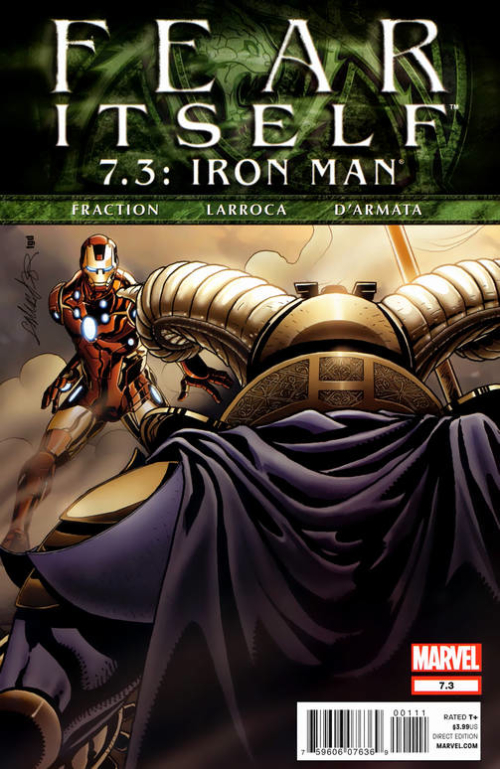 Couverture de Fear Itself (2011) -73- Fear Itself #7.3: Captain America