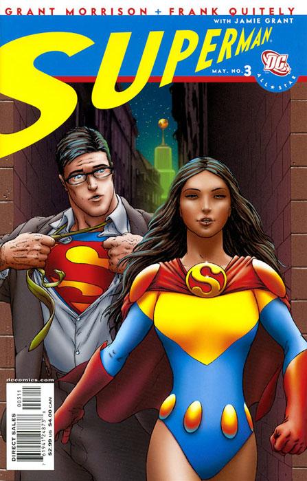 Couverture de All-Star Superman (2006) -3- Sweet Dreams, Superwoman...