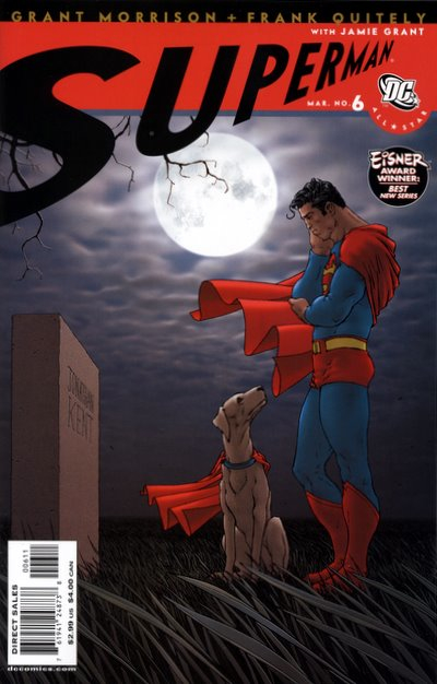 Couverture de All-Star Superman (2006) -6- Funeral in Smallville
