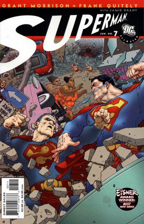 Couverture de All-Star Superman (2006) -7- Being Bizarro