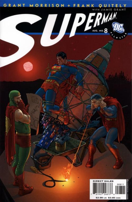 Couverture de All-Star Superman (2006) -8- Us Do Opposite