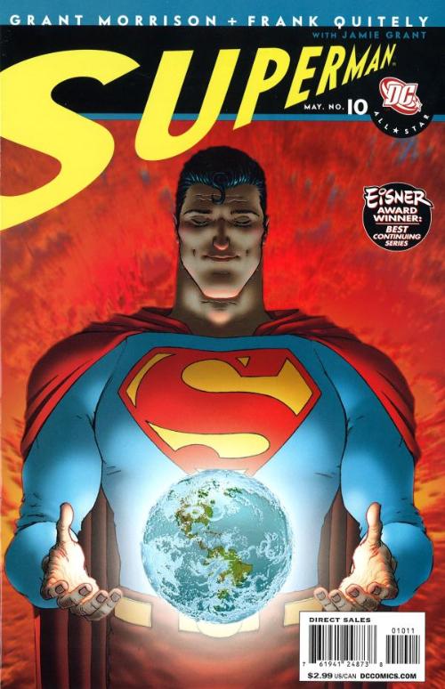 Couverture de All-Star Superman (2006) -10- Neverending