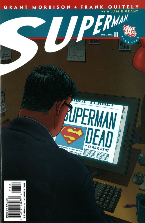 Couverture de All-Star Superman (2006) -11- Red Sun Day