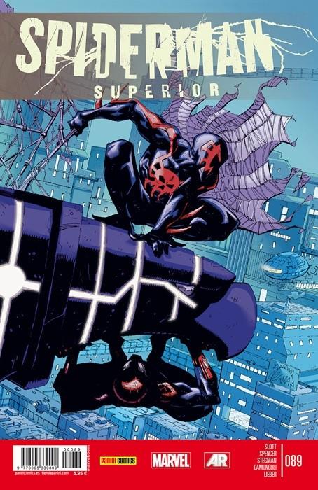 Couverture de Asombroso Spiderman -89- El Mal Necesario