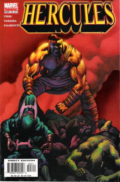 Couverture de Hercules (2005) -3- The New Labors Part 3