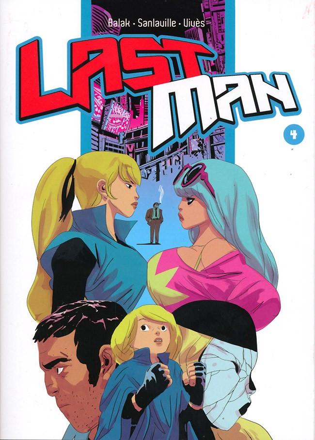 Couverture de LastMan -4- Tome 4