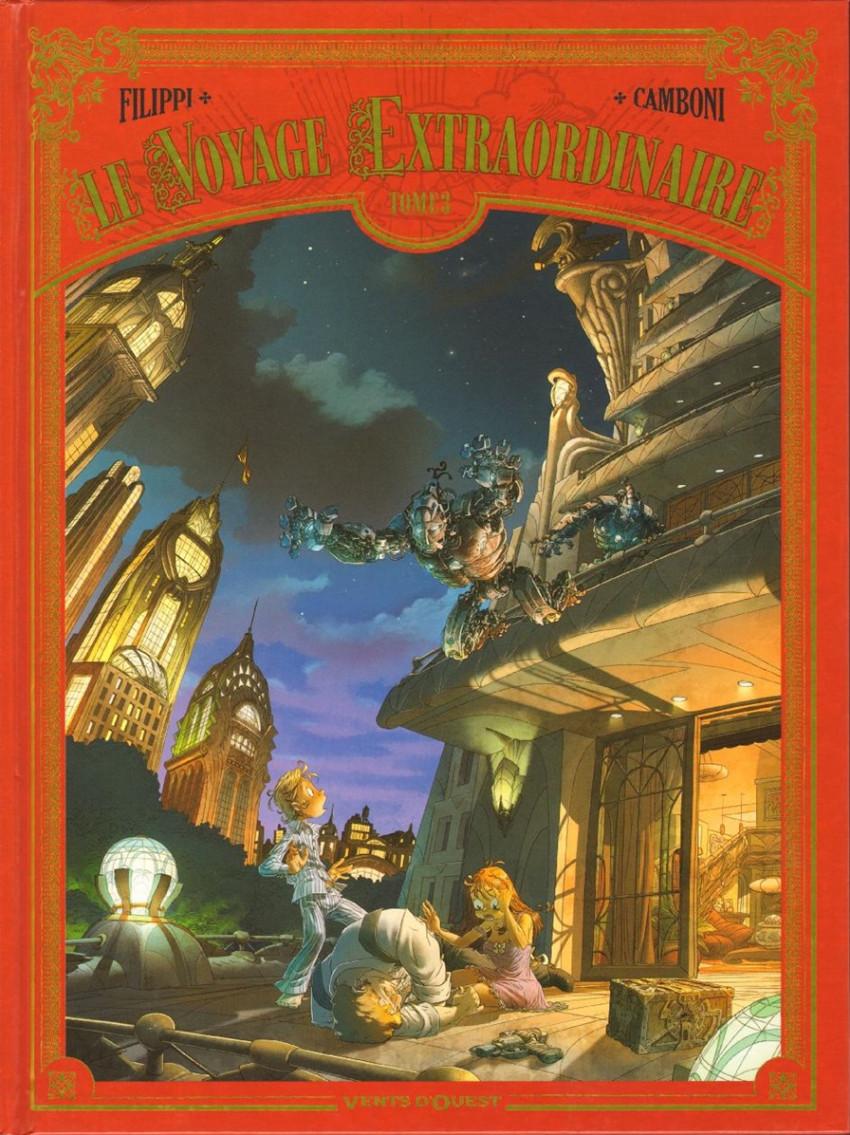 Couverture de Le voyage Extraordinaire -3- Tome 3 - Le Trophée Jules Verne 3/3