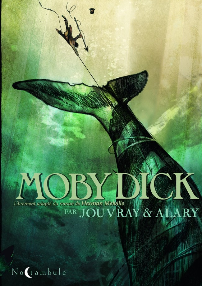 Couverture de Moby Dick (Jouvray/Alary) - Moby Dick