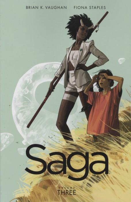 Couverture de Saga (Image comics - 2012) -INT03- Saga - Volume Three
