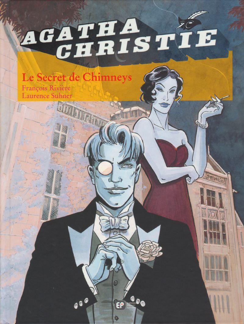 Couverture de Agatha Christie (Emmanuel Proust Éditions) -1- Le Secret de Chimneys