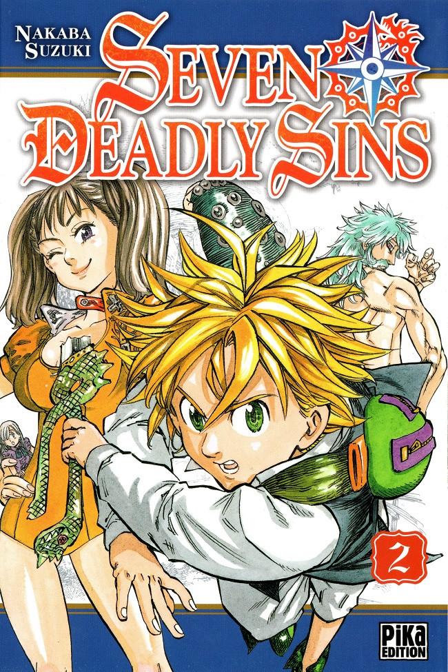 Couverture de Seven Deadly Sins -2- Tome 2