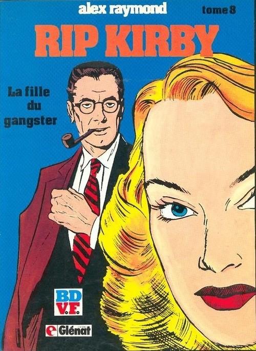 Couverture de Rip Kirby -8- La fille du gangster