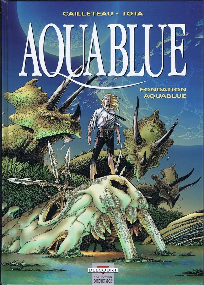 Couverture de Aquablue -8- Fondation Aquablue