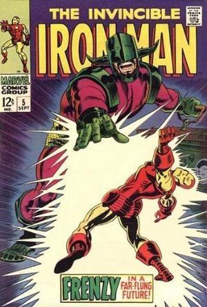 Couverture de Iron Man Vol.1 (Marvel comics - 1968) -5- Frenzy in a far-flung future !
