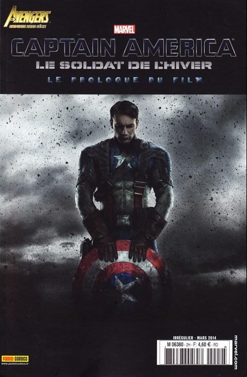 Couverture de Avengers Universe (1re série - 2013) -HS2- Captain America - Le Soldat de l'hiver - Le Prologue du film
