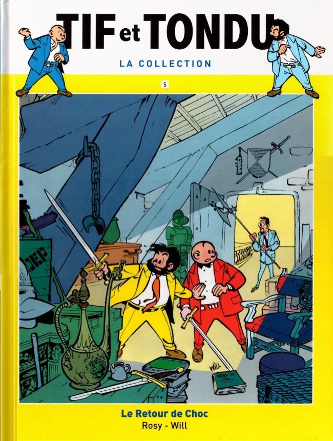 Couverture de Tif et Tondu - La collection (Hachette)  -5- Le Retour de Choc