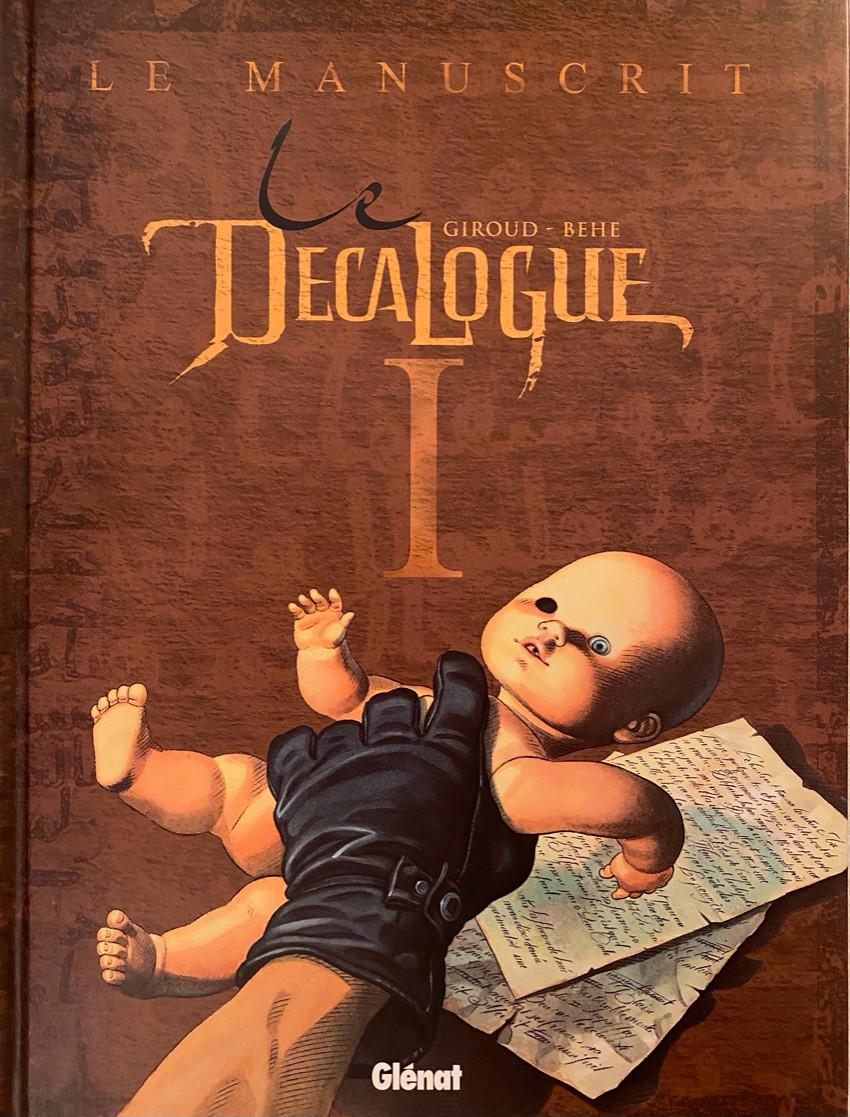 Couverture de Le décalogue -1- Le manuscrit