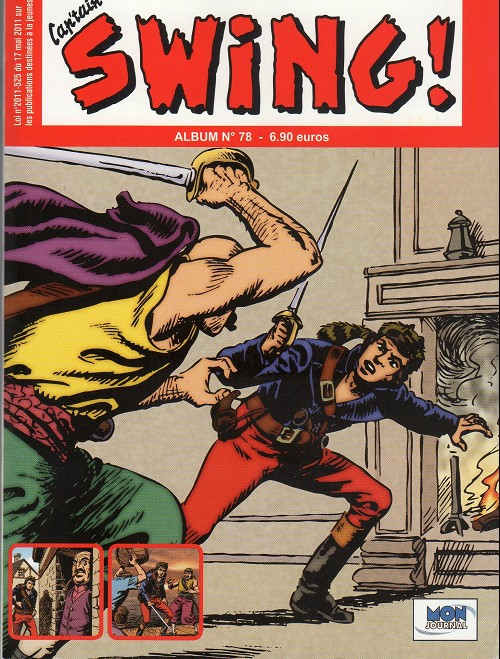 Couverture de Capt'ain Swing! (2e série - Mon Journal) -Rec78- Album N°78 (du n°234 au n°236)