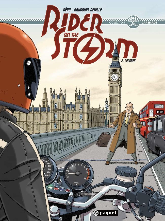 Couverture de Rider on the storm -2- Londres