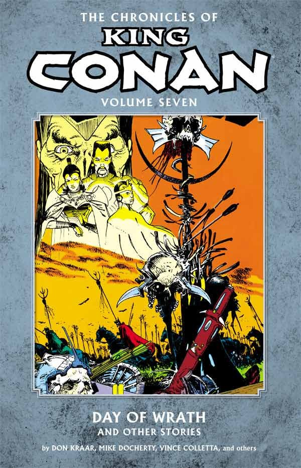 Couverture de Chronicles of King Conan (The) (2010) -INT07- Day of Wrath and Other Stories