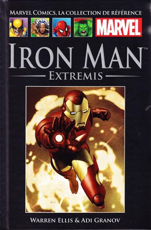 Couverture de Marvel Comics - La collection (Hachette) -340- Iron Man - Extremis