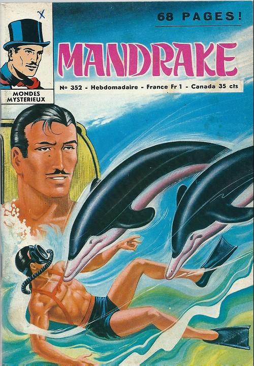 Couverture de Mandrake (1e Série - Remparts) (Mondes Mystérieux - 1) -352- Le messager des profondeurs