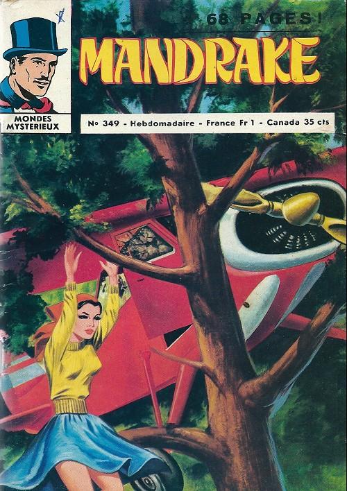 Couverture de Mandrake (1re Série - Remparts) (Mondes Mystérieux - 1) -349- Une étrange aventure de Narda