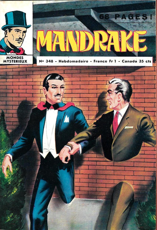 Couverture de Mandrake (1e Série - Remparts) (Mondes Mystérieux - 1) -348- Le bandit invisible 2