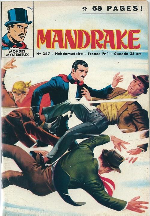 Couverture de Mandrake (1re Série - Remparts) (Mondes Mystérieux - 1) -347- Le bandit invisible