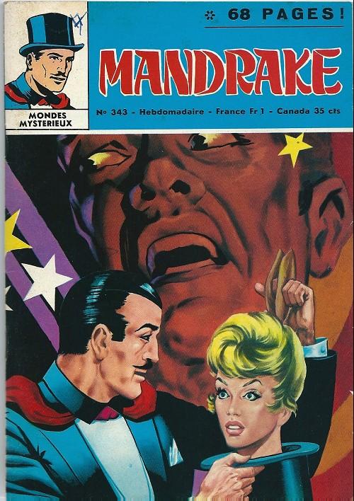 Couverture de Mandrake (1re Série - Remparts) (Mondes Mystérieux - 1) -343- La maison de satan