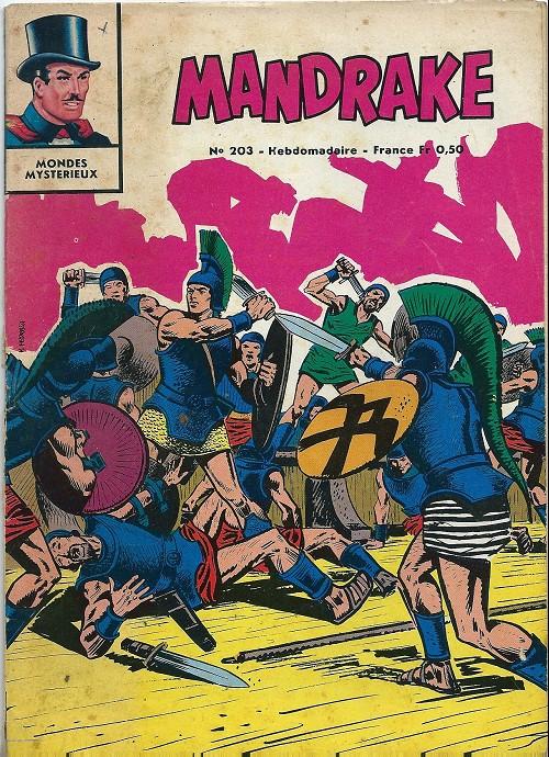 Couverture de Mandrake (1re Série - Remparts) (Mondes Mystérieux - 1) -203- Hypnose
