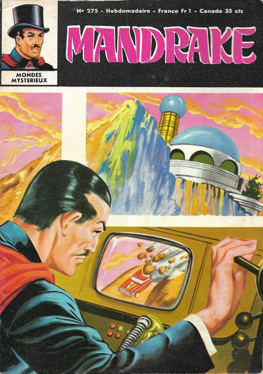 Couverture de Mandrake (1re Série - Remparts) (Mondes Mystérieux - 1) -275- Le rescapé de la planète jupiter