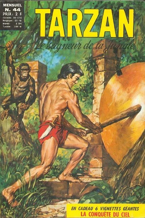 Couverture de Tarzan (2e Série - Sagédition) (Vedettes T.V.) -44- Pour des diamants