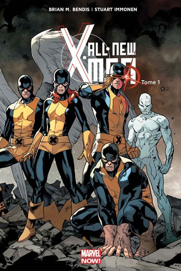 Couverture de All-New X-Men (Marvel Now! - 2014) -1- X-Men d'hier