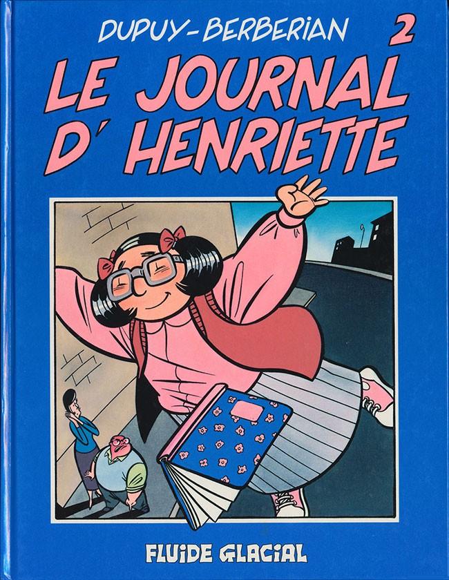 """Résultat de recherche d'images pour """"Le journal d'Henriette (tome 1 et 2) – Dupuy / Berberian"""""""