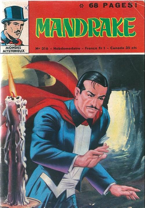 Couverture de Mandrake (1re Série - Remparts) (Mondes Mystérieux - 1) -316- Les mangeurs d'or
