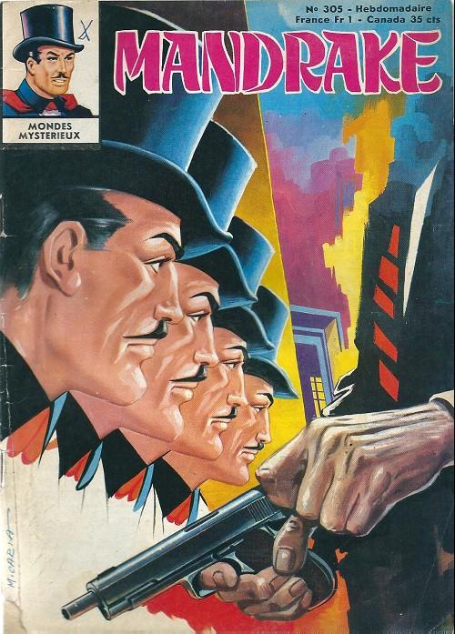 Couverture de Mandrake (1re Série - Remparts) (Mondes Mystérieux - 1) -305- Cobra, c'est la fin !