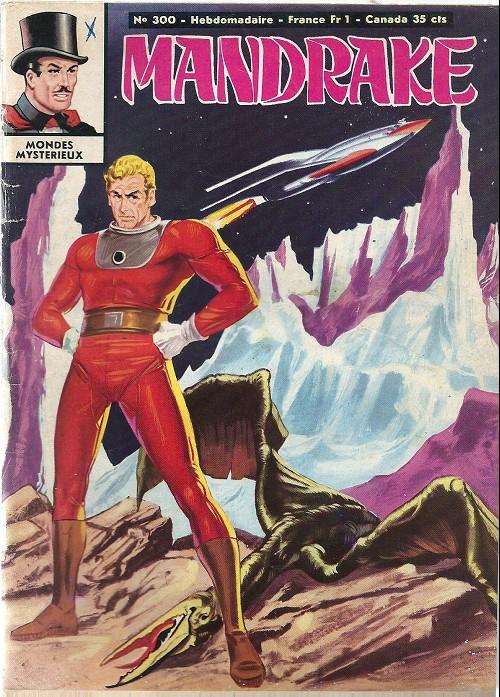 Couverture de Mandrake (1re Série - Remparts) (Mondes Mystérieux - 1) -300- La caverne rouge