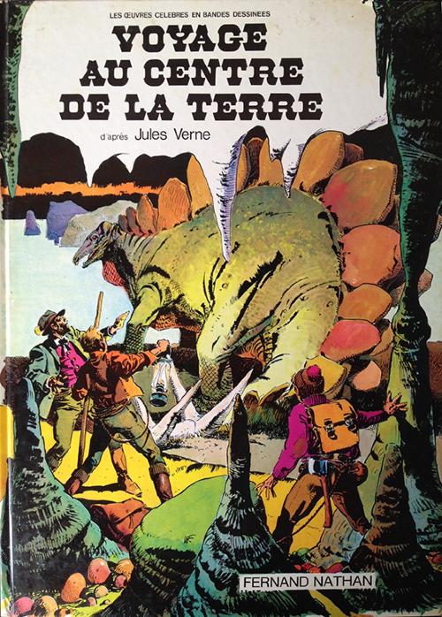 Couverture de Voyage au centre de la Terre (De La Fuente, Ramon) - Voyage au centre de la Terre