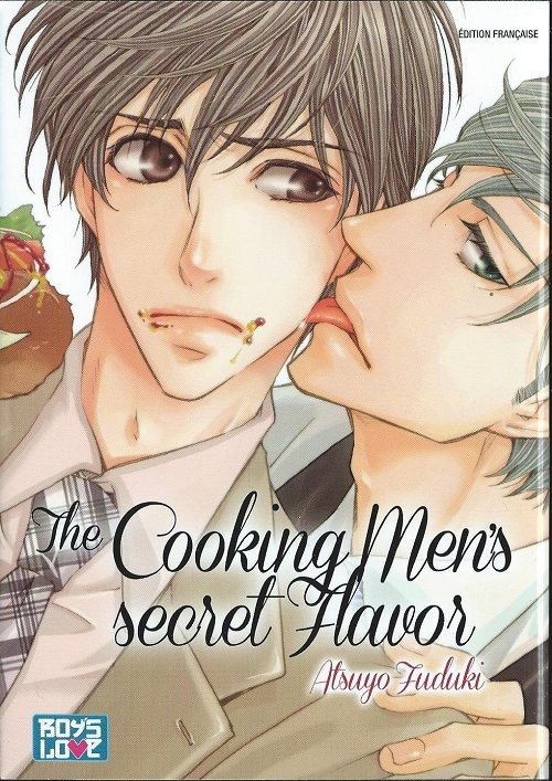 Couverture de Cooking Men's secret Favor (The) - The Cooking Men's secret Flavor
